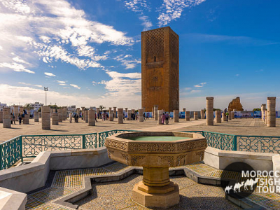 4 DAYS TOUR FROM CASABLANCA THROUGH THE NORTH OF MOROCCO  CASABLANCA-RABAT-FES-CHEFCHAOUEN-TANGIER